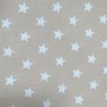 Beige Estrellas Blancas